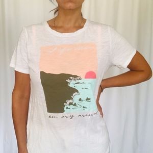 Old Navy California on my mind Graphic Tee - Large